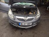 Opel Corsa dalimis. 1,4 benziniukas, virtes ant sono