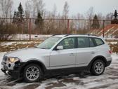 BMW X3 dalimis. E83 x3 3.0d 2006m. dalimis, platus naudotų