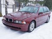 BMW 525 dalimis. Bmw e39 525d 2003m. touring  spalva:
