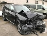 BMW X3, 2.0 l., visureigis