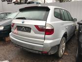 BMW X3. Naudotos automobiliu dalys automobiliai nuo 1995 iki