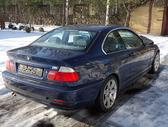 BMW 330 dalimis. Bmw e46 330cd 2003m. 150kw coupe europa