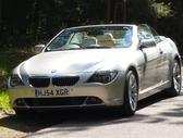 BMW 645, 4.5 l., kabrioletas / roadster