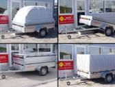 Respo 750M251L150 42 atverčiama, lengvųjų automobilių priekabos