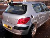 Peugeot 307. Automobilis dar neisardytas! taikome detalem