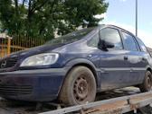 Opel Zafira dalimis. Spalva z282 xxec.  turime ir daugiau į