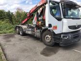 Renault Premium LANDER 410 DXI +  Fassi F130, konteinerių gabenimo