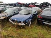 BMW 323. Galinis bamperis su parktronikais, r18. spalva