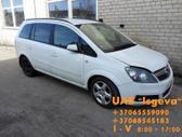 Opel Zafira. Variklio kodas: z19dth navigacija, kablys