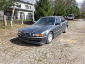 BMW 740 dalimis. Bmw e38 740d lci spalva:anthrazit metallic (