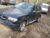 BMW X3 по частям. Bmw e83 x3 3.0d 160kw spalva: black sapphire