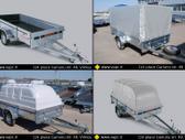 Respo 750M301L150PL 0.42, lengvųjų automobilių priekabos