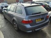 BMW 520. Bmw 520 2008m, universalas, 130 kw variklis, juodas