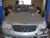Mercedes-Benz SL klasė rezerves daļās. Mercedes benz sl55 amg,