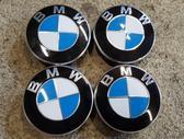 BMW NAUJI ORIGINALUS BMW DANGTELIA, center caps, R16
