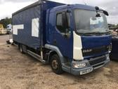 DAF LF 45.180, curtain / tarpaulin trucks