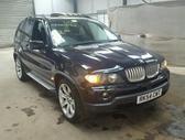 BMW X5 dalimis. Bmw x5 4.8is 265kw 2004metu dalimis automatine