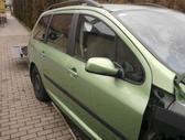 Peugeot 307 for parts. Del detaliu  8 6 1 6 0 0 1 2 2 ko