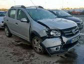 Dacia Sandero. Platus naudotų detalių pasirinkimas, asortimentas