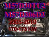 BMW 5 serija variklis