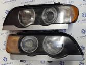 BMW X5. Bmw x53 x5 2003 priekiniai xenon žibintai  mus rasite č