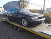 BMW 730 по частям. Bmw e65 730d 2002m. europinis juodas