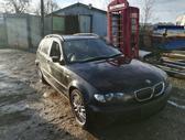 BMW 3 serija. Bmw e46 320d 2003m. touring  spalva: black