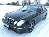 Mercedes-Benz E klasė. šio automobilio dalis galite apžiūrėti ir
