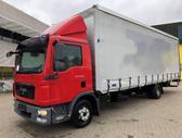 MAN TGL 10.220 Euro 5, curtain / tarpaulin trucks