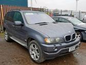BMW X5. Bmw x5 2003m, lieti ratai tv, odinis salonas , slenksč