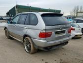 BMW X5. Bmw x5 2006m. 160 kw, slenksčiai, juodas odinis salonas,