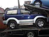 Toyota Land Cruiser. доставка бу запчастей с разтаможкой в мин...