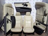 BMW 3 serija. Bmw e90 kreminis odinis salonas nešildomas angliš