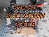 BMW X5. Bmw e70 x5 3.0d 210kw 306d5 plikas variklis  mus