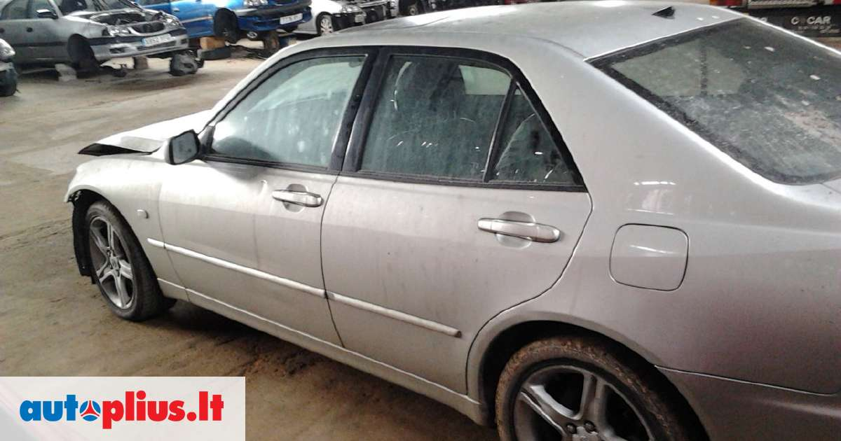 Lexus IS 200 for parts. Dalimis - lexus is200 se 2001 2.0l ...