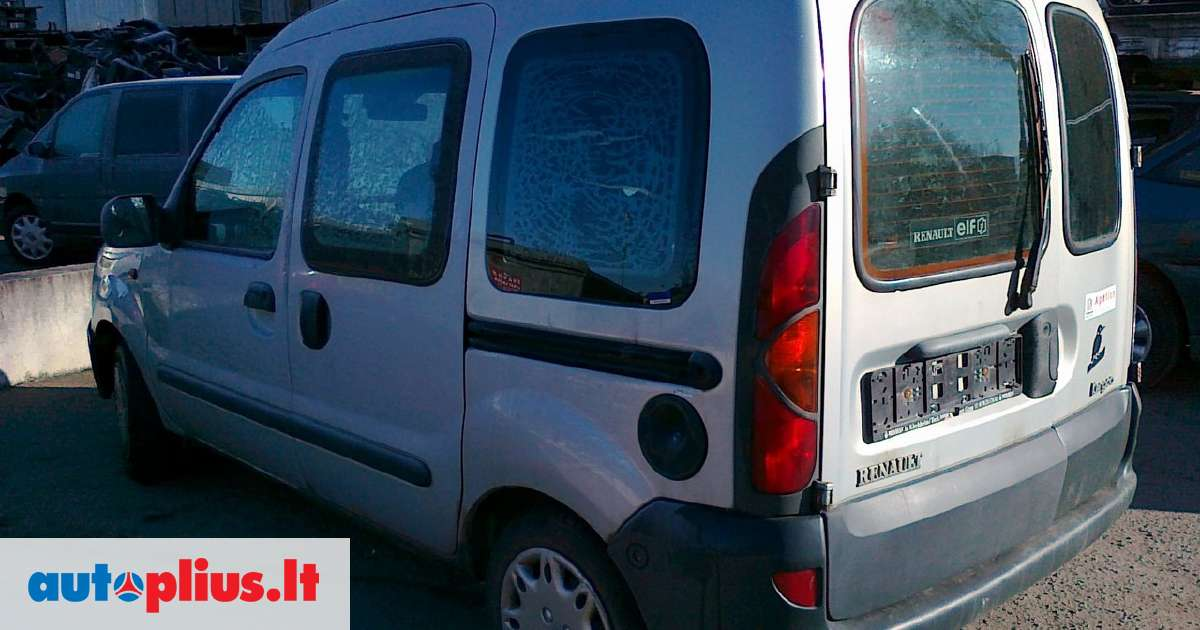 renault kangoo europinis 1 9 dti dali pristatymas visoje 2000 m a2069507. Black Bedroom Furniture Sets. Home Design Ideas