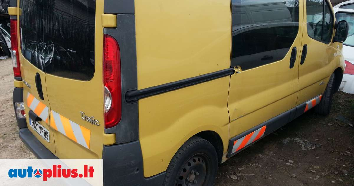 Ford Fiesta Roof Rack >> Renault Trafic for parts. Automatas. automobilis dalimis ...