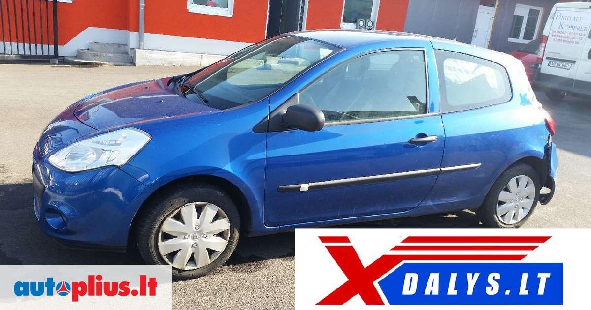 Renault Clio For Parts Www Xdalys Lt Bene Didžiausia