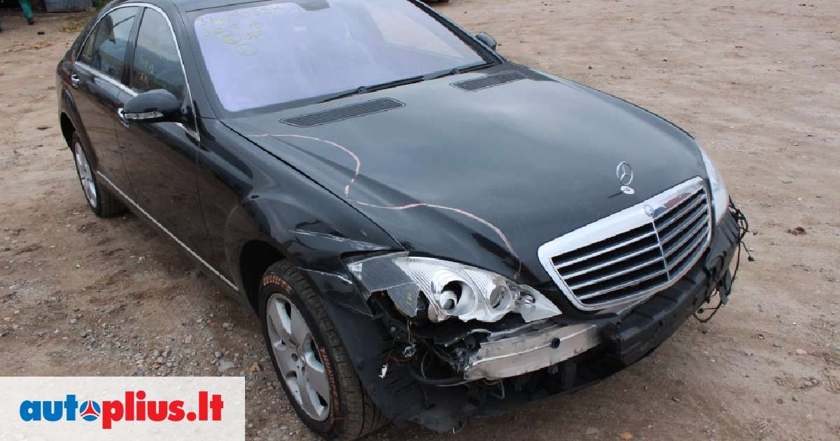 Mercedes benz s500 for parts 2007 m a4483689 for Mercedes benz s500 parts