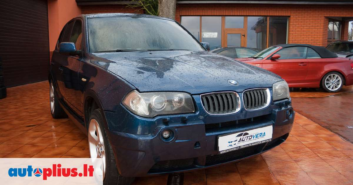 bmw x3 dalimis bmw e83 x3 2005m dalimis taip pat turime 2005 m a4667939. Black Bedroom Furniture Sets. Home Design Ideas