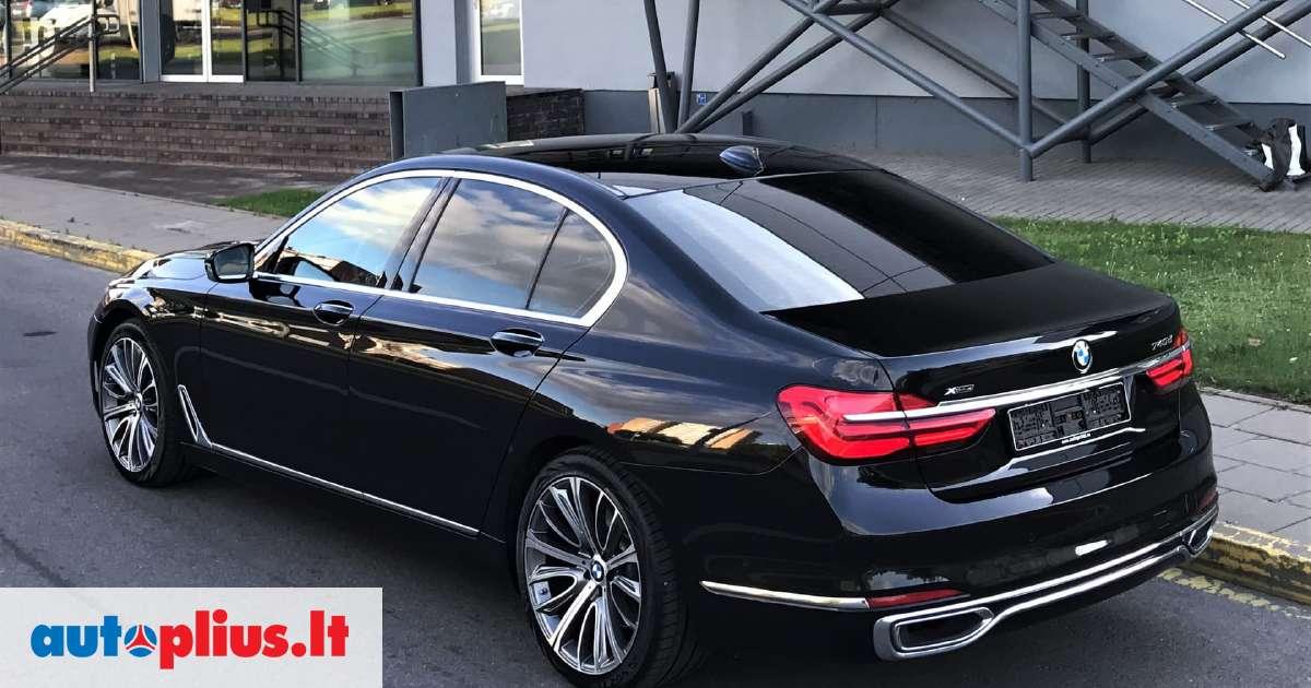 Bmw 740 3 0 L Saloon Sedan 2016 07 M A5646247