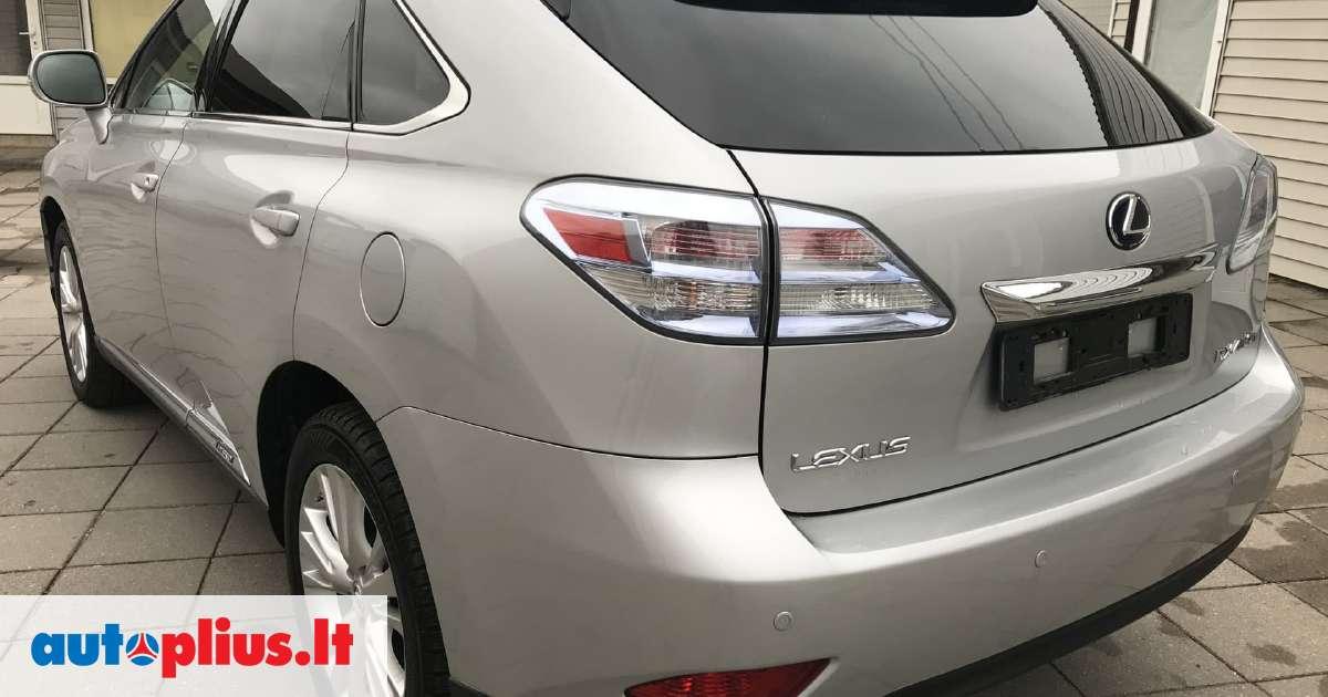 Lexus RX 450h, 3.5 l., suv / off-road 2010-07 m ...