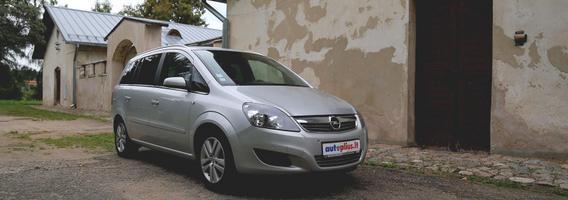 """Antros kartos """"Opel Zafira"""": būtų labai gerai, jeigu nebūtų konkurentų"""