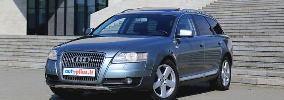 """Naudotas """"Audi A6 Allroad Quattro"""" – ištikimas pagalbininkas visais gyvenimo atvejais"""