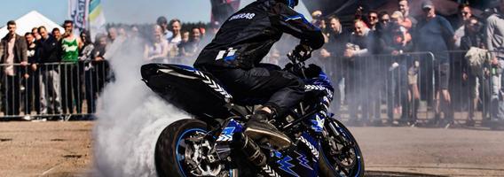 Lietuvio motoakrobato rekordas išliko nepagerintas visus metus