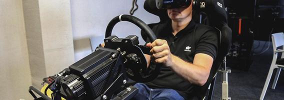 Lietuvis BTC čempionato etapui ruošiasi virtualioje realybėje
