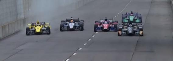 13 vaizdo siužetų, įrodančių, kad lenktynininkai moka vairuoti