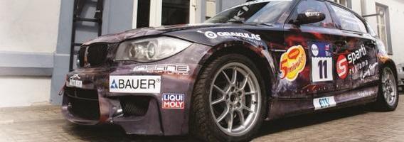 """Dyzeliniu BMW važiuojančios """"Sparti reklama"""" komandos tikslas Palangoje – greičiausiųjų dešimtukas"""