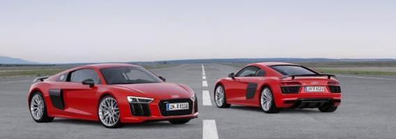 """Naujasis """"Audi R8"""" modelis – jau prekyboje"""