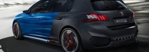 """""""Peugeot 308 R Hybrid"""" – 500 arklio galių hečbekas"""